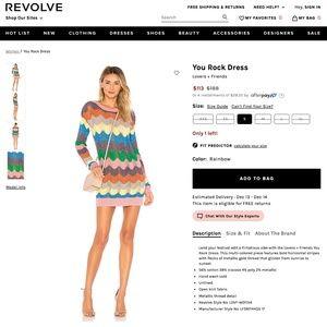 NEW Lovers + Friends You Rock Sweater Dress